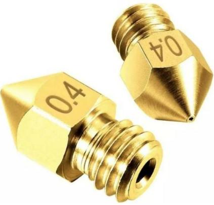 2 Bicos - Nozzle - 1.75mm - 0.4mm - Mk7 Mk8 Hotend para Impressora 3D