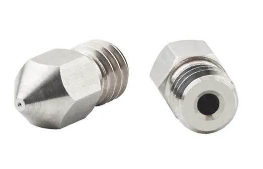 2 Bicos - Nozzle - Aço Inox - 1.75mm - 0.3mm - Hotend para Impressora 3D