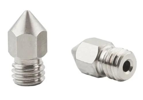 2 Bicos - Nozzle - Aço Inox - 1.75mm - 0.6mm - Hotend para Impressora 3D