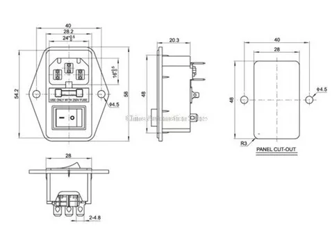 Botão Interruptor para Impressora 3D