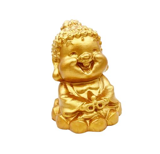Buda da Felicidade em Impressão 3D