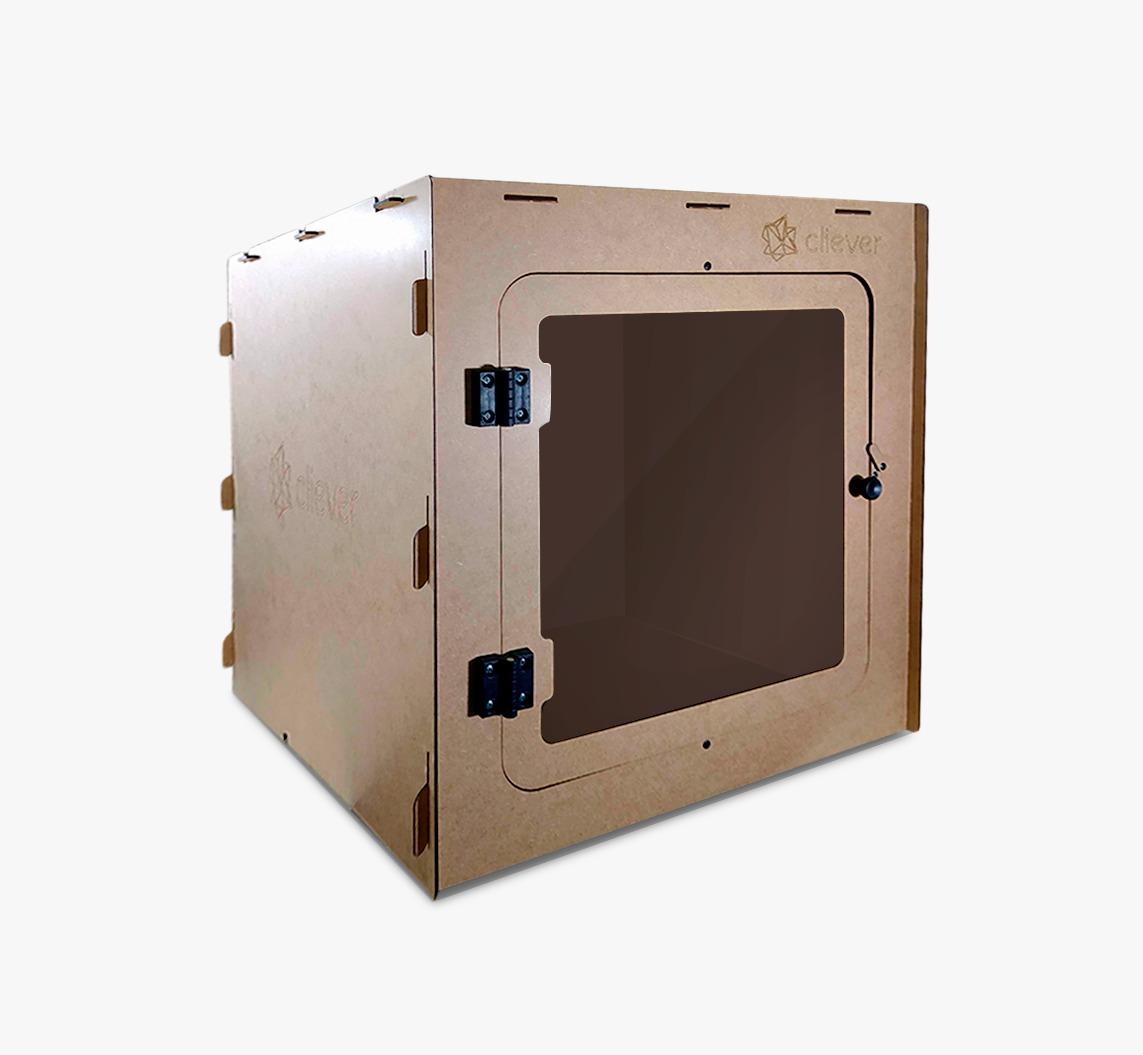 Cabine para Impressoras 3D abertas
