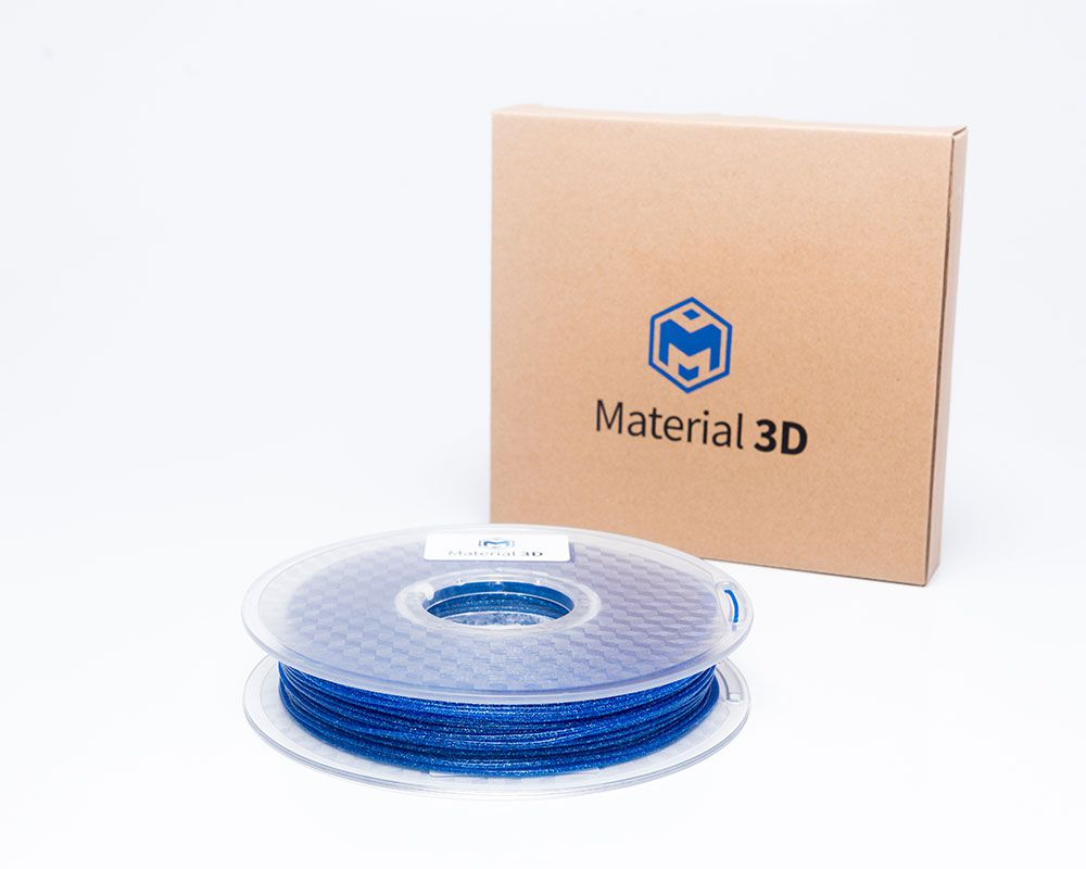 Filamento PLA - Galaxy Azul - Material 3D -  1.75mm - 500g