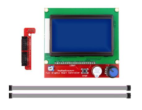 Display Lcd 128x64 12864 Painel De Controle Impressora 3D