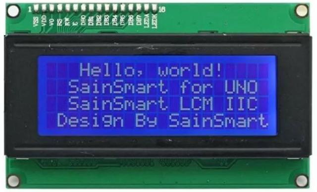 Display LCD - Alfanumérico - 2004 - 20x4 - Arduino - Impressora 3D