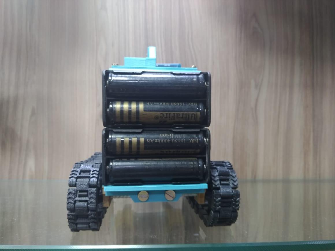 Empilhadeira V1 - EN3D - Arduino - Bluetooth