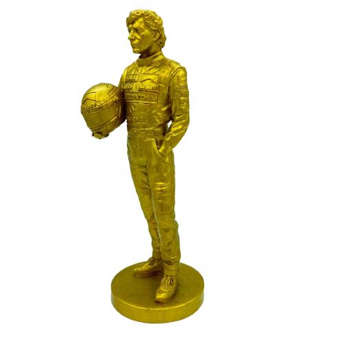 Estátua Ayrton Senna em Impressão 3D de Resina
