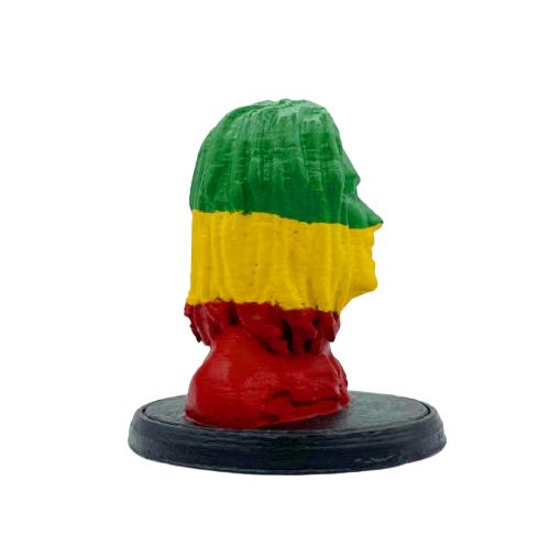 Estátua Bob Marley Reggae em Impressão 3D