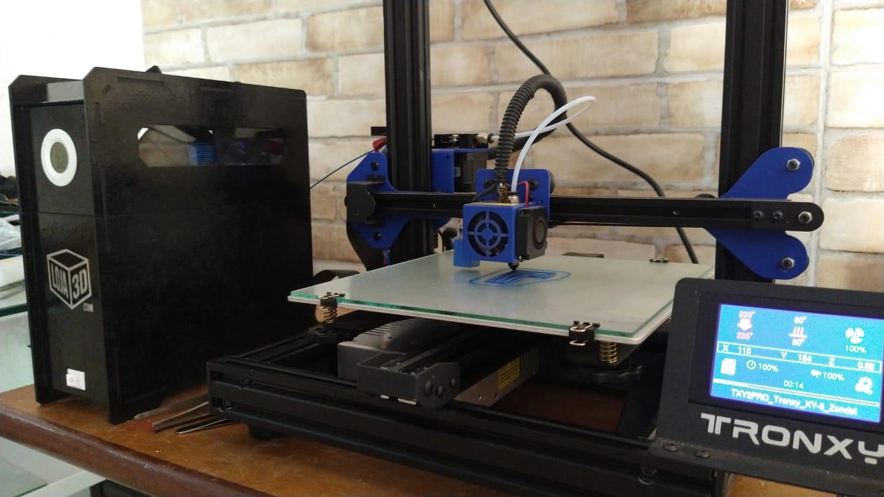 Estufa da Loja 3D para Filamentos de Impressoras 3D