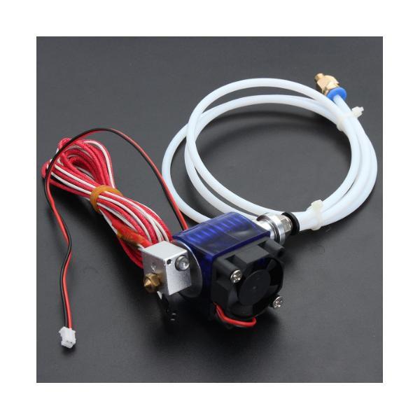 Extrusora Hotend Bowden Para Impressora 3D Para Filamento 1.75mm E Bico De 0.4mm