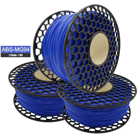 Filamento ABS - Azul Celeste - Premium MG94 - National 3D - 1.75mm - 1kg