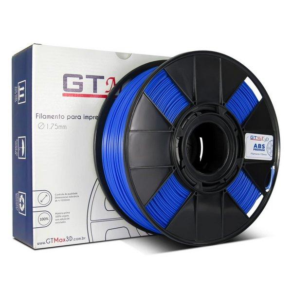Filamento ABS - Azul Claro - Premium - GTMax 3D - 1.75mm - 1KG