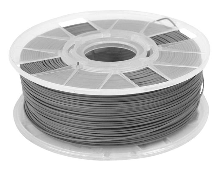 Filamento ABS - Cinza - Cliever - 1.75mm - 1kg