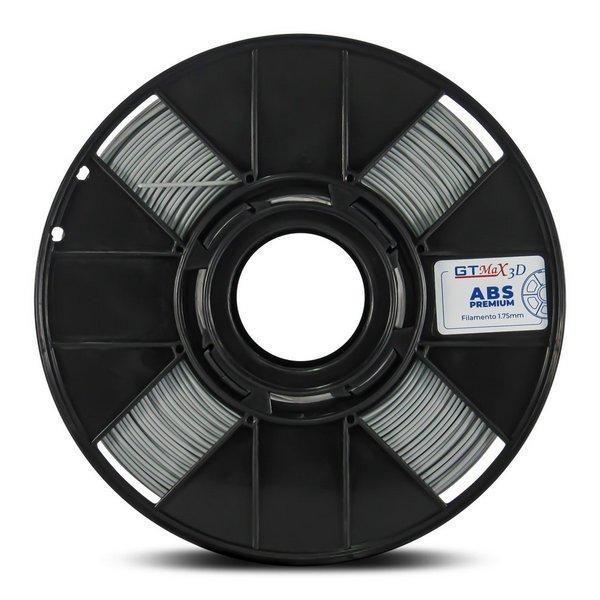 Filamento ABS - cinza - Premium - GTMax 3D - 1.75mm - 1KG