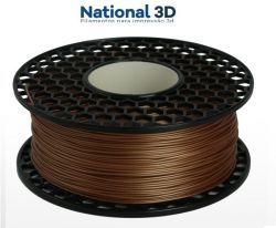 Filamento ABS - Cobre - Premium MG94 - National 3D - 1.75mm - 1kg