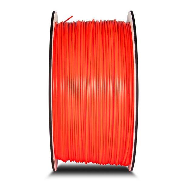 Filamento ABS- Laranja Fluorescente - Premium MG94 - GTMax 3D - 1.75mm - 1KG