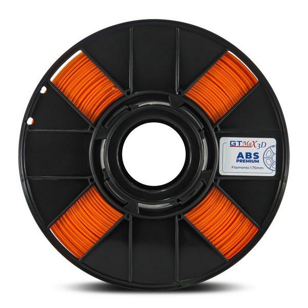 Filamento ABS - Laranja - Premium - GTMax 3D - 1.75mm - 1KG