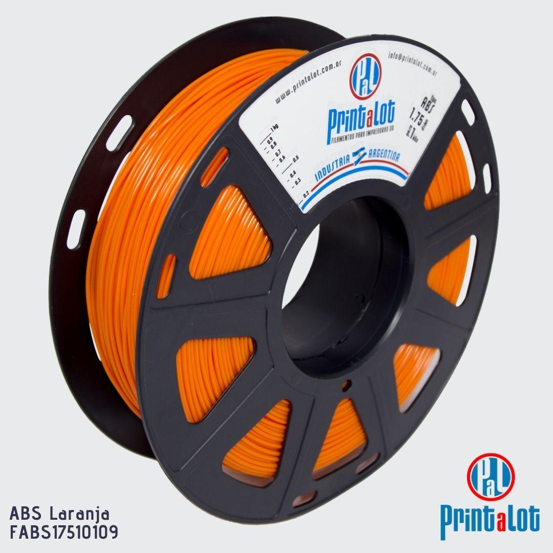 Filamento ABS - Laranja - PrintaLot - 1.75mm - 1KG