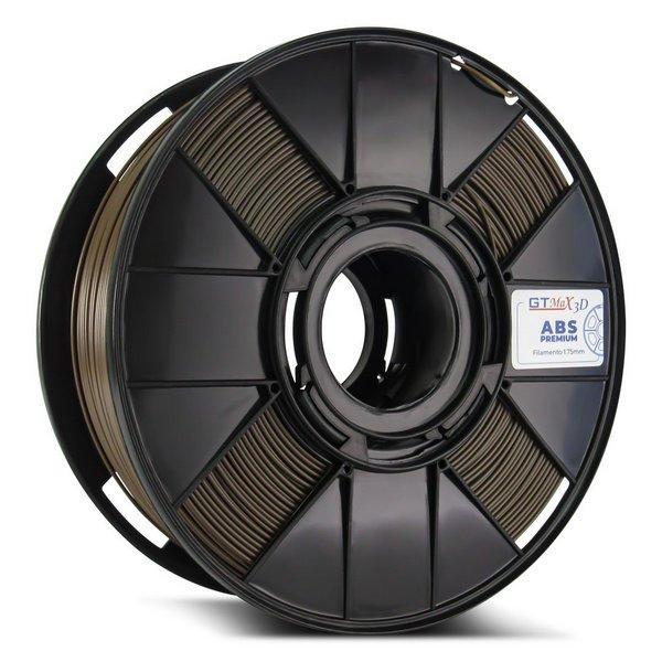 Filamento ABS - Marrom - Premium - GTMax 3D - 1.75mm - 1KG