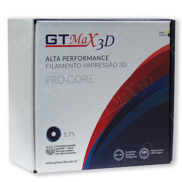 Filamento ABS- Marrom - Premium MG94 - GTMax 3D - 1.75mm - 1KG