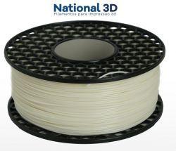 Filamento ABS - Natural - Premium MG94 - National 3D - 1.75mm - 1kg