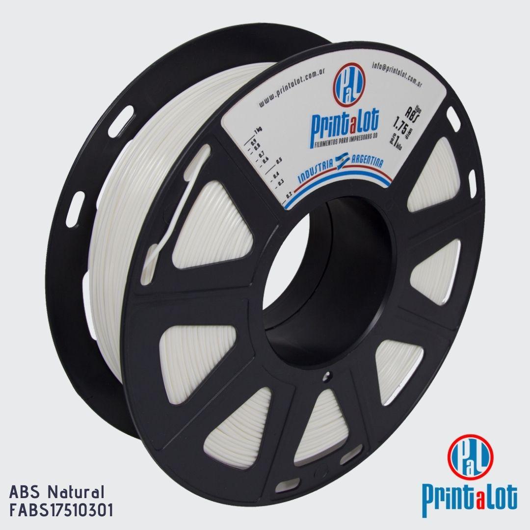 Filamento ABS - Natural - PrintaLot - 1.75mm - 1KG