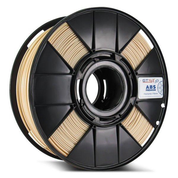 Filamento ABS - Nude - Premium - GTMax 3D - 1.75mm - 1KG