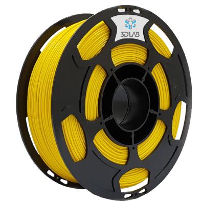 Filamento ABS Premium - Amarelo - 3D Lab - 1.75mm - 1kg