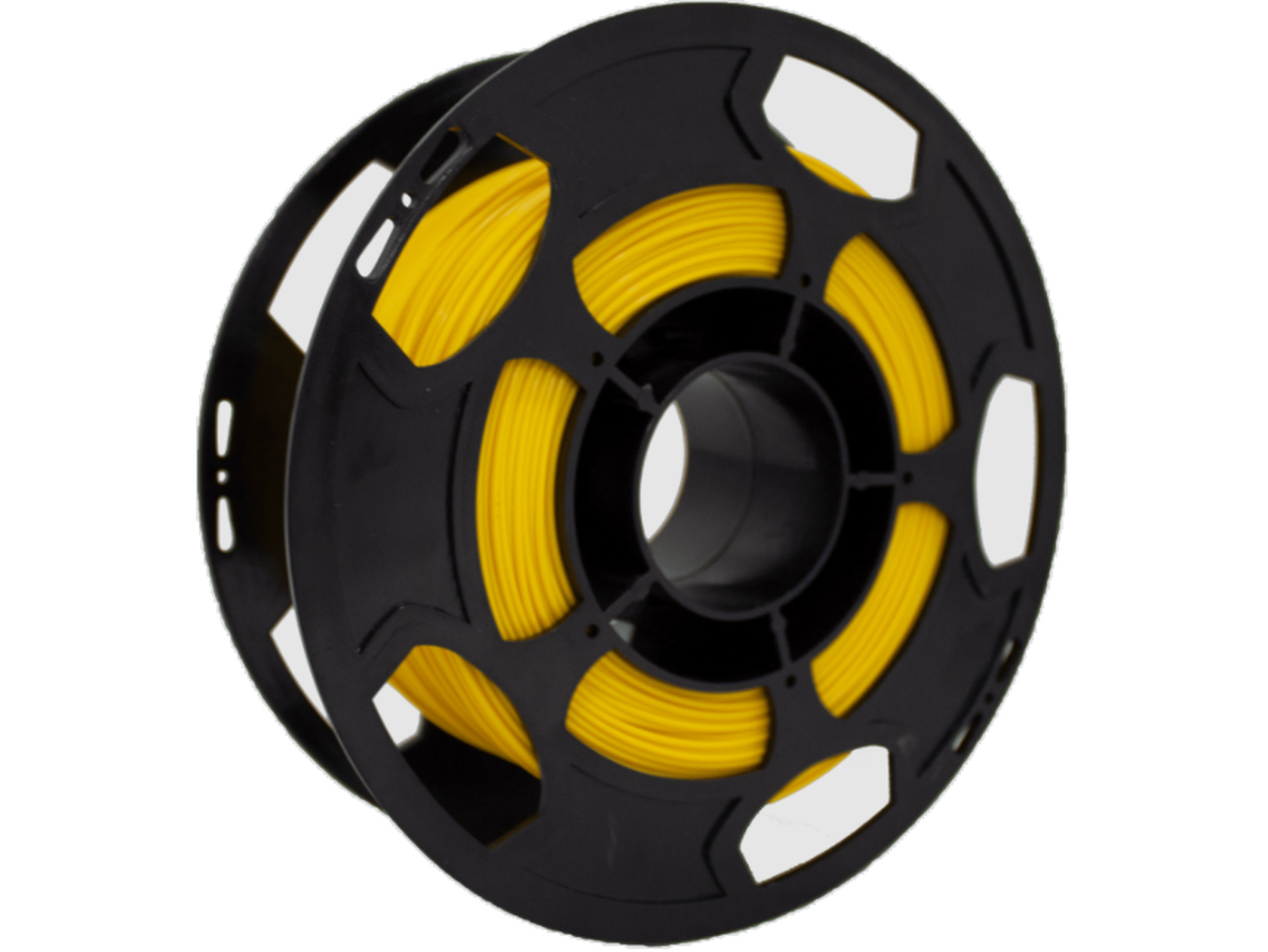 Filamento ABS Premium - Amarelo - 3D Lab - 1.75mm - 500g