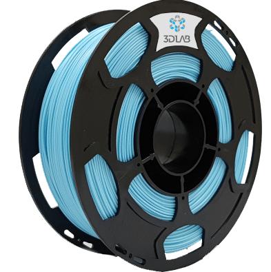 Filamento ABS Premium - Azul Claro - 3D Lab - 1.75mm - 1kg