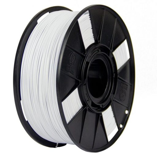 Filamento ABS Premium+ - Branco Gesso - 3D Fila - 1.75mm - 500g