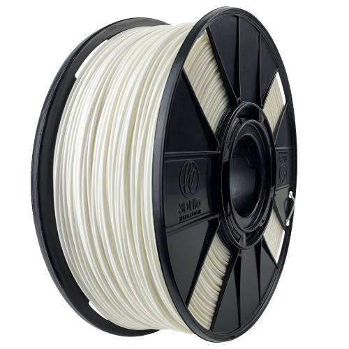 Filamento ABS Premium+ - Branco Odonto - 3D Fila - 1.75mm - 1kg