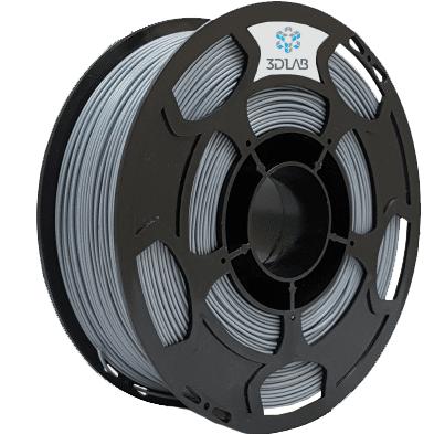 Filamento ABS Premium - Cinza  - 3D Lab - 1.75mm - 1kg