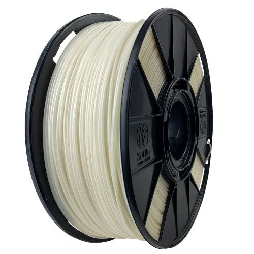 Filamento ABS Premium+ - Natural Marfim - 3D Fila - 1.75mm - 250g