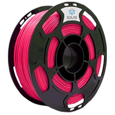 Filamento ABS Premium -  Pink  - 3D Lab - 1.75mm - 1kg