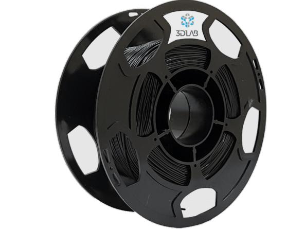 Filamento ABS Premium - Preto  - 3D Lab - 1.75mm - 500g