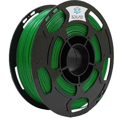 Filamento ABS Premium - Verde - 3D Lab - 1.75mm - 1kg