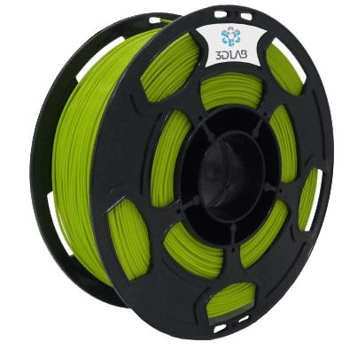 Filamento ABS Premium - Verde Abacate  - 3D Lab - 1.75mm - 1kg