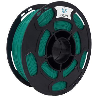Filamento ABS Premium - Verde Água  - 3D Lab - 1.75mm - 1kg
