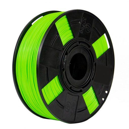 Filamento ABS Premium+ - Verde Lima - Limão - 3D Fila - 3.00mm - 1kg