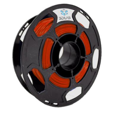 Filamento ABS Premium - Vermelho - 3D Lab - 1.75mm - 500g