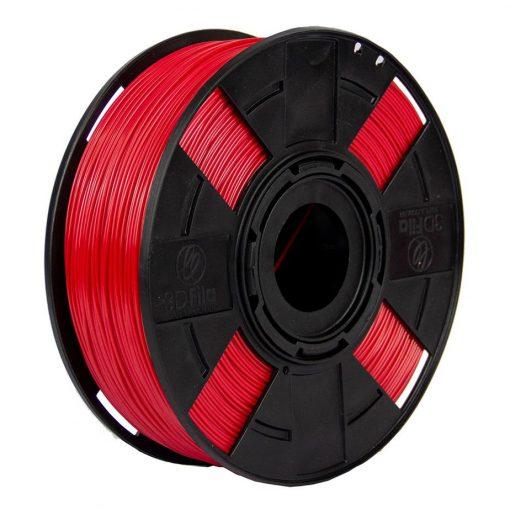 Filamento ABS Premium+ - Vermelho Aranha - 3D Fila - 1.75mm - 1kg