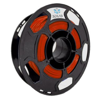Filamento ABS Premium - Vermelho Ferrari - 3D Lab - 1.75mm - 500g