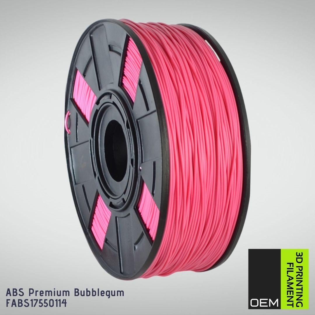 Filamento ABS - Rosa - OEM - 1.75mm - 1KG