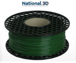 Filamento ABS - Verde Floresta - Premium MG94 - National 3D - 1.75mm - 1kg