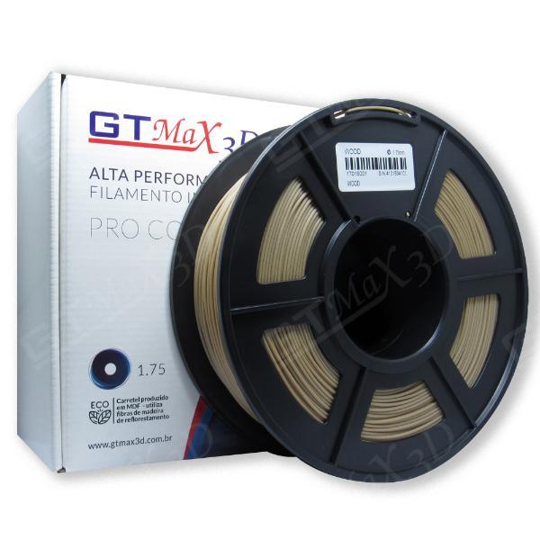 Filamento De Madeira (Wood) - GTMax3D - 1.75mm - 1KG