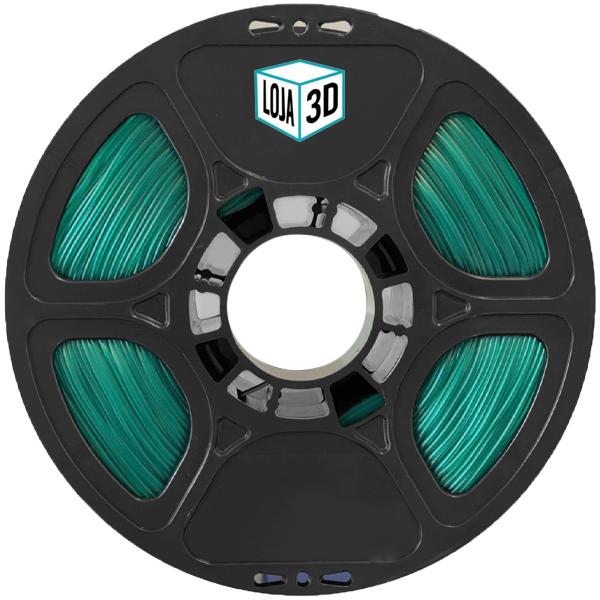 Filamento Flex TPU Premium - Verde - Loja 3D - 1.75mm - 1kg