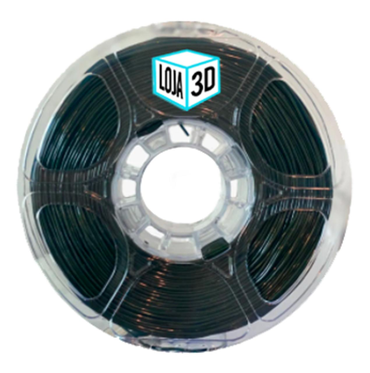 Filamento Flex TPU Premium - Verde Marinho - Furtacor - Loja 3D - 1.75mm - 1kg