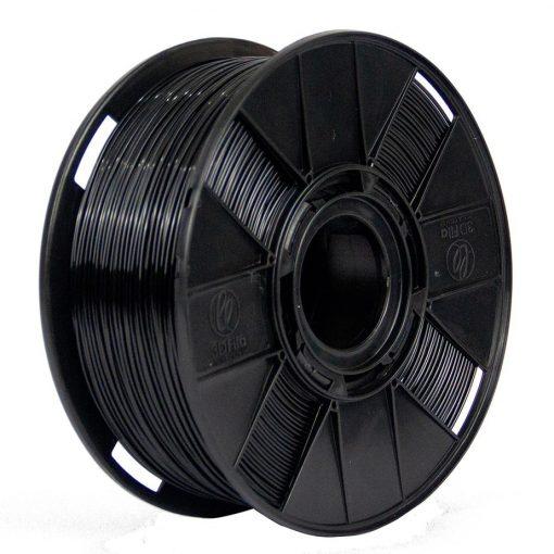 Filamento Flexível TPU - Preto - 3D Fila - 1.75mm - 1KG