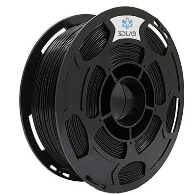 Filamento Flexível TPU - Preto - 3D Lab - 1.75mm - 1kg